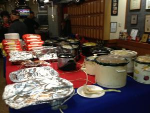 spread at the VFW
