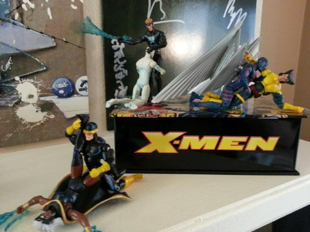 X-Men fucking. Mostly men, but all X.