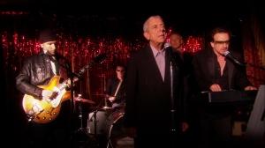 Leonard Cohen & U2 as seen in Leonard Cohen: I'm Your Man