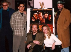 w/ the cast of From Dusk Till Dawn 2: Texas Blood Money