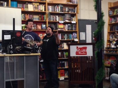BJE at Powell's