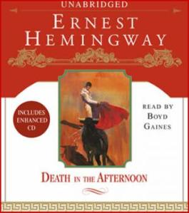 Death in the Afternoon by Ernest Hemingway