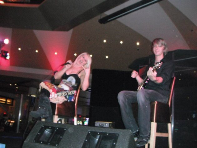 Goldy Locks at the Hard Rock Casino in Biloxi, MS (2011).
